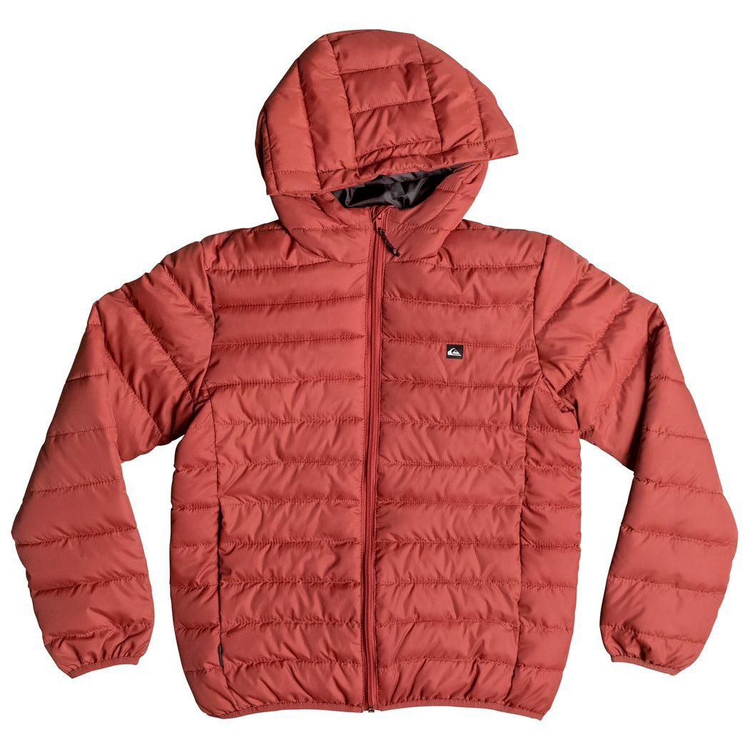 Street bunda Quiksilver Scaly Youth barn red
