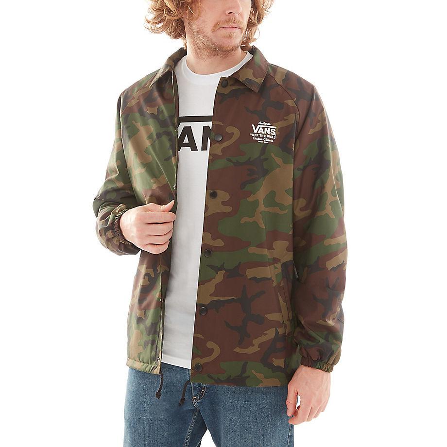Street Jacket Vans Torrey Camo Snowboard Zezula