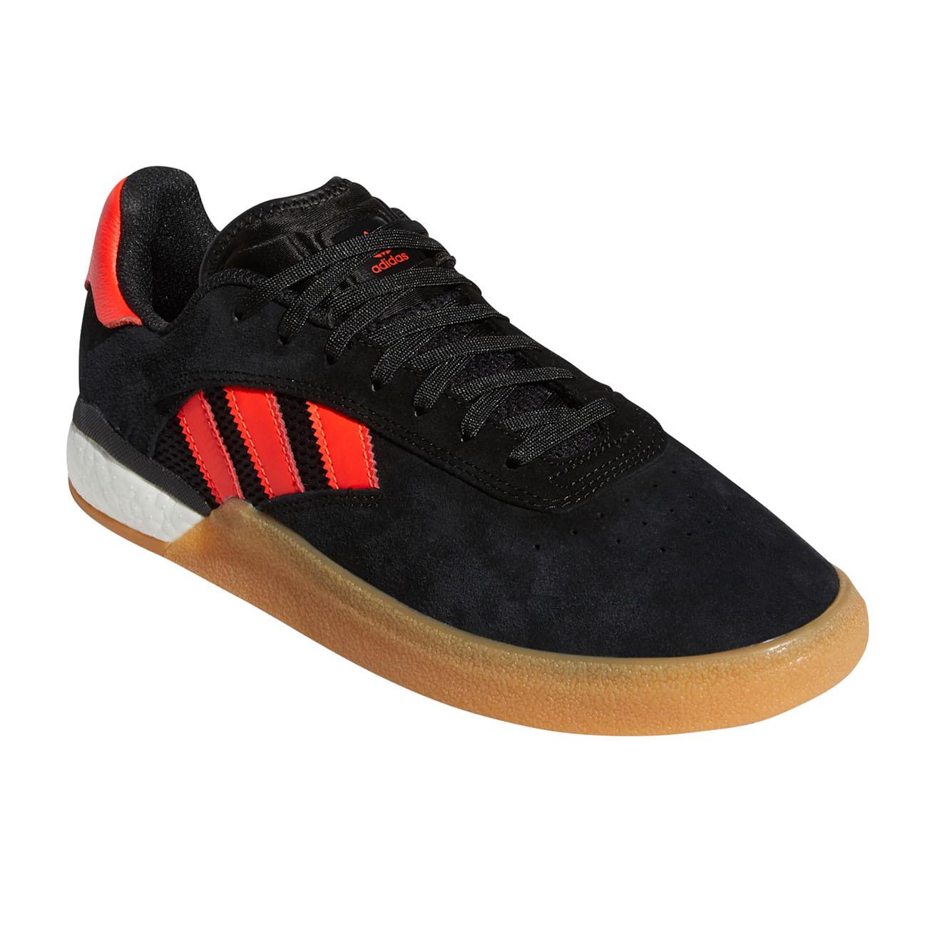 Baño solidaridad alarma  Skate shoes Adidas 3St.004 core black/solar red/ftwr white   Snowboard  Zezula
