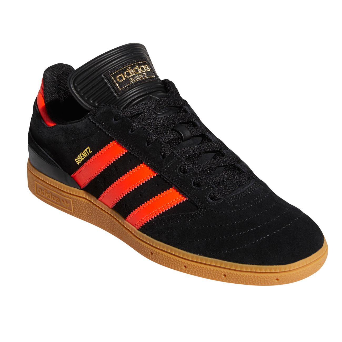 Adidas Busenitz Skate shoes Adidas Busenitz core black/solar red/gum | Snowboard ...