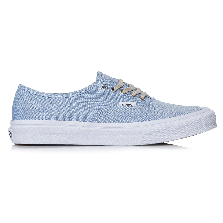 a92861a6e1 Vans Authentic Slim chambray blue true white