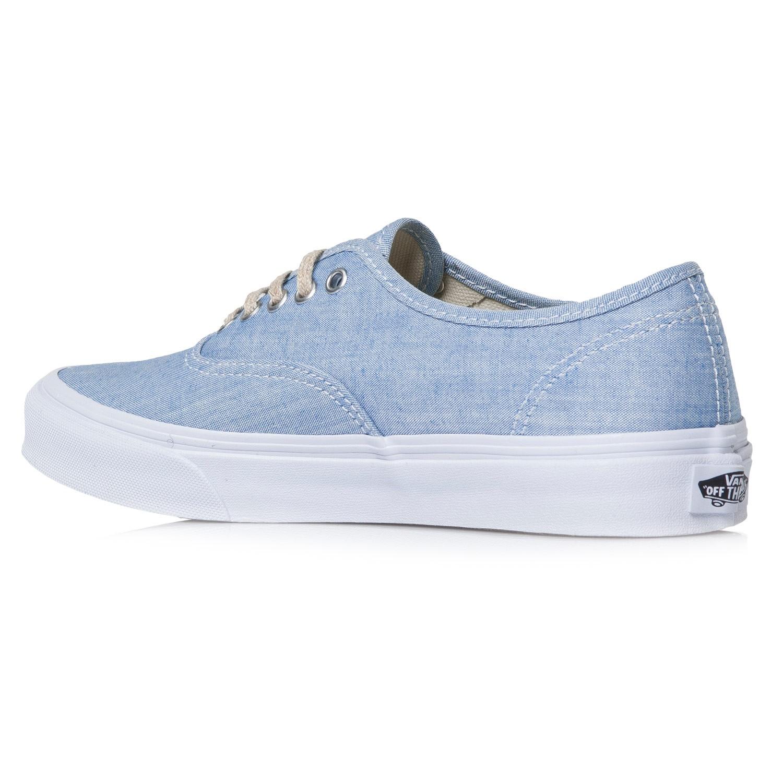 Vans Authentic Slim chambray blue/true white