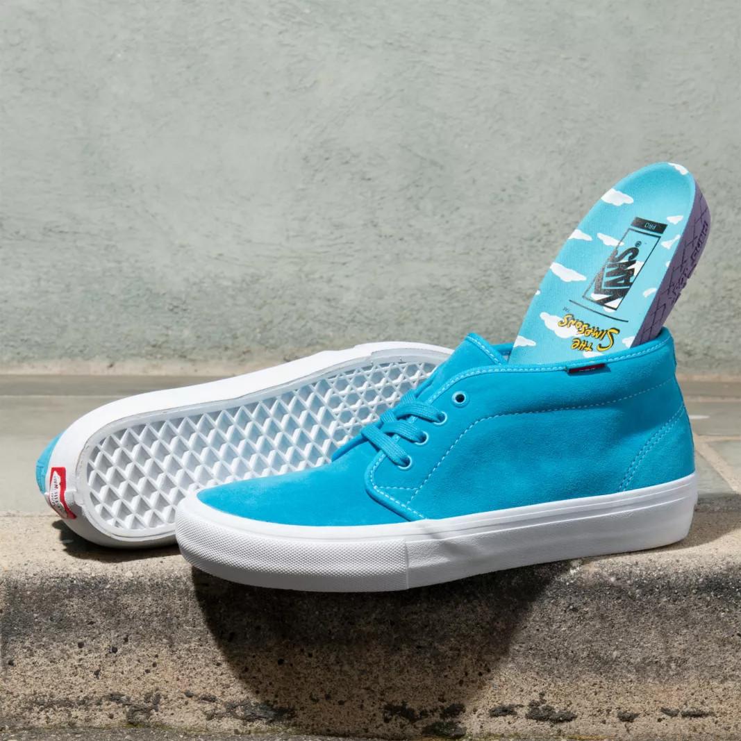 pasar por alto gritar código  Sneakers Vans Chukka Pro The Simpsons bart | Snowboard Zezula