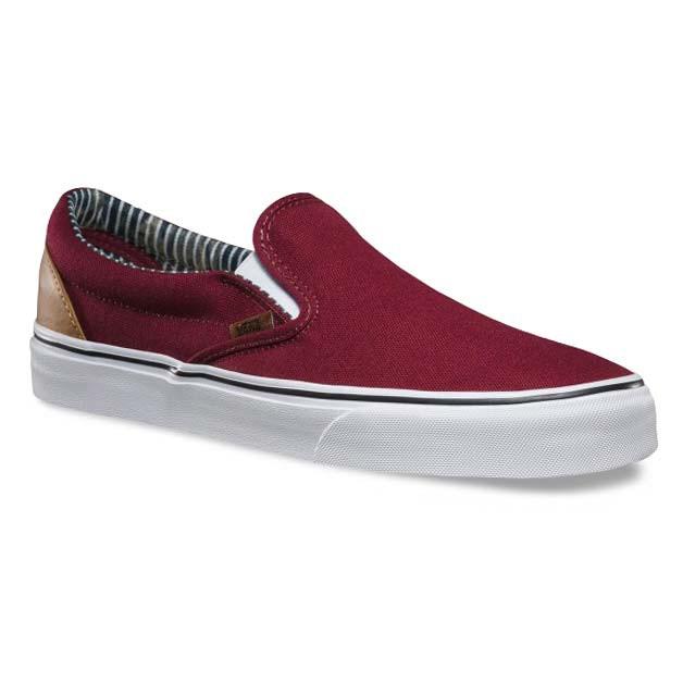 Vans Classic Slip On Red