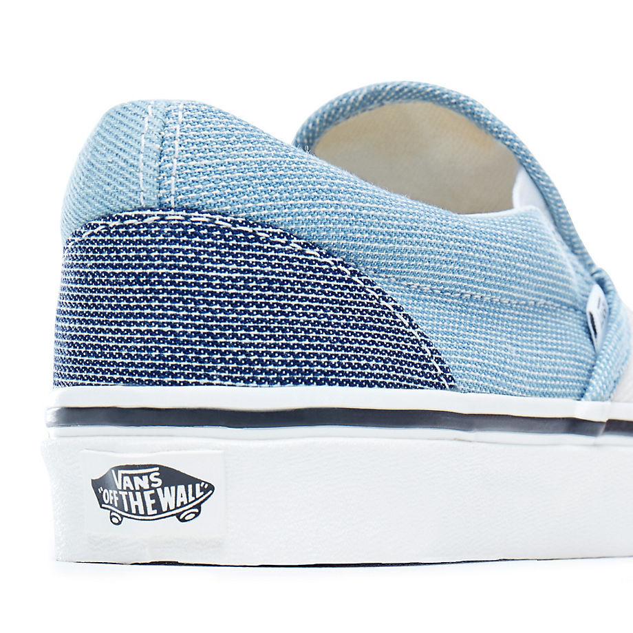 2129cd83ea Sneakers Vans Classic Slip-On patchwork denim