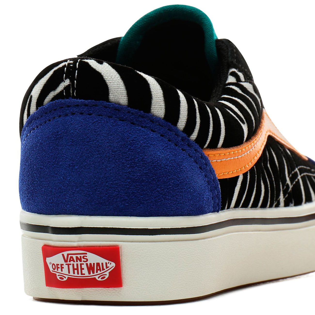 Comfycush Old Skool zebra tidepoolsurf the web