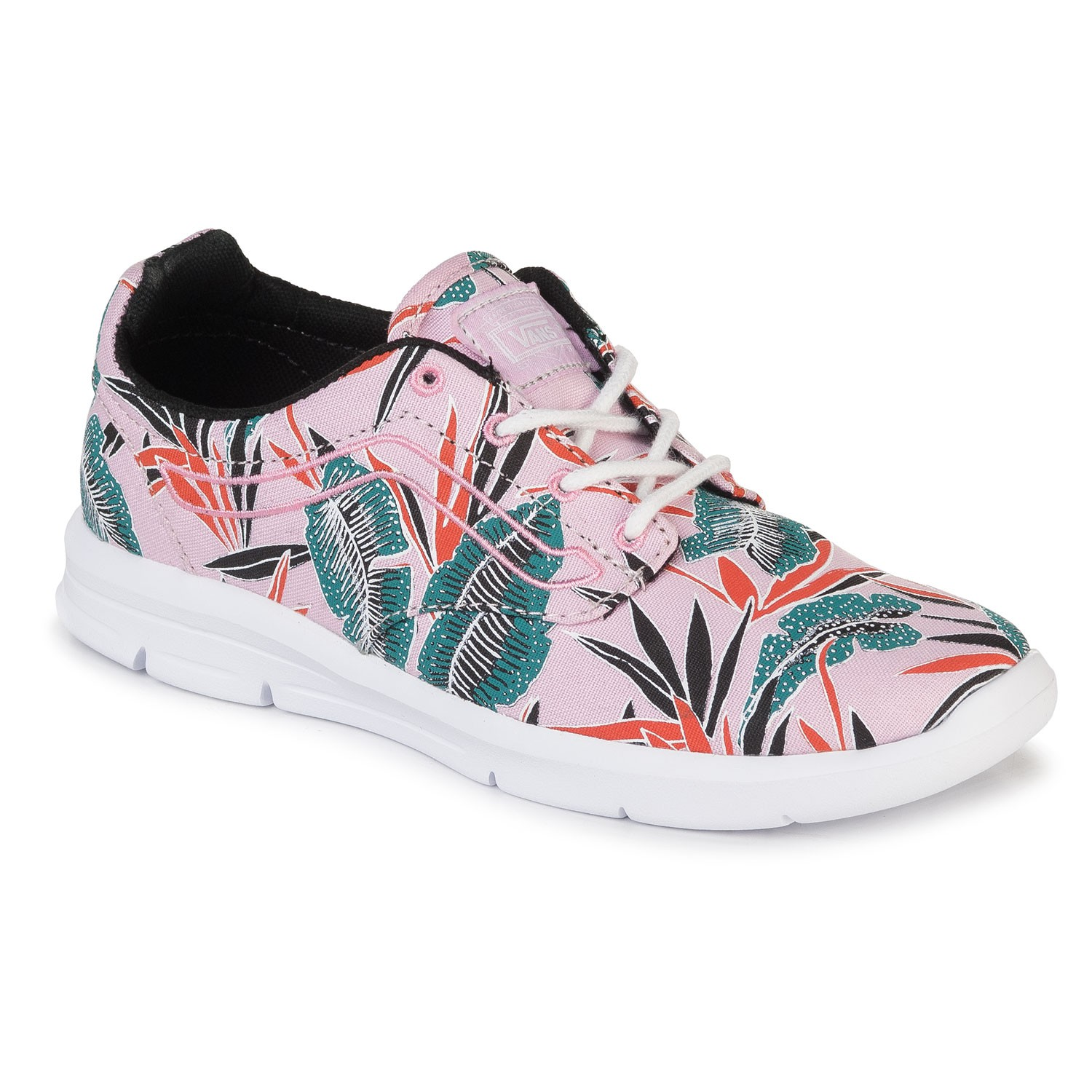7bb20aa905 Sneakers Vans Iso 1.5 Kids tropical leaves pink