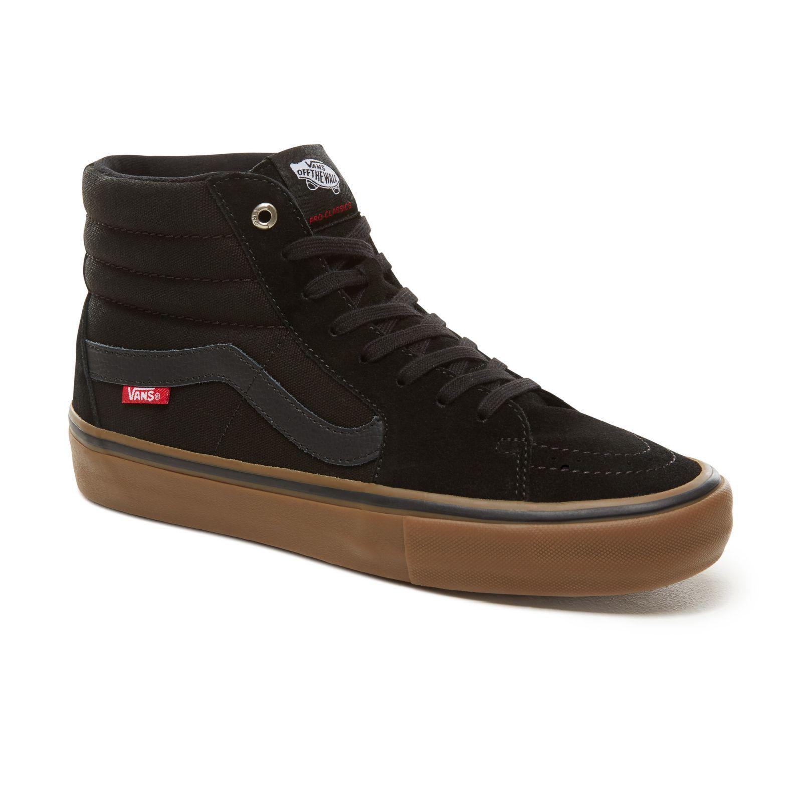 Sneakers Vans Sk8-Hi Pro black/gum