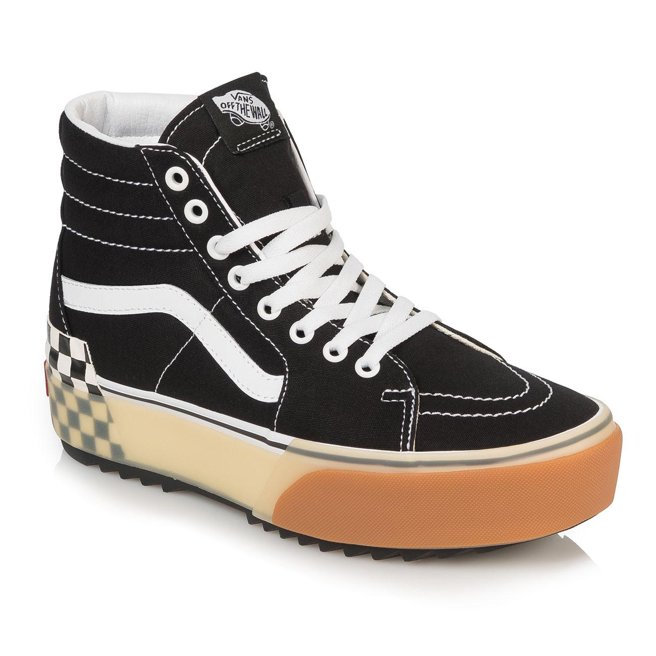Skate shoes Vans Sk8-Hi Stacked black