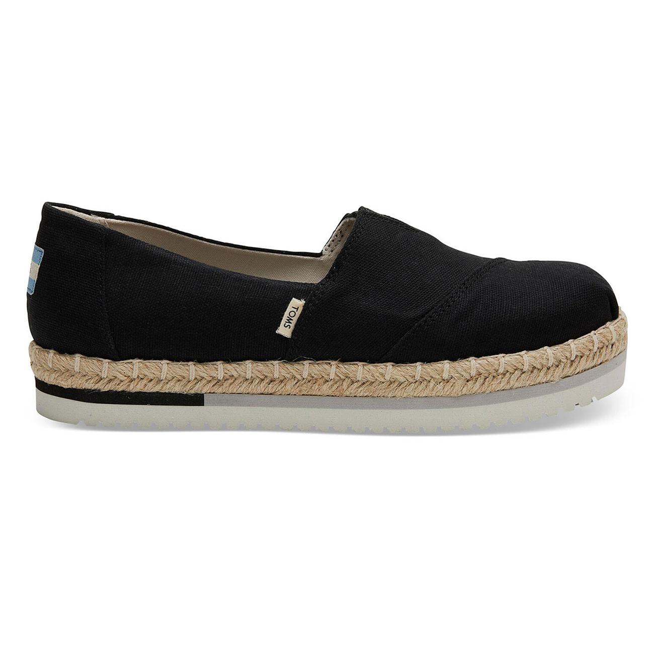 Sneakers Toms Alpargata Platform black