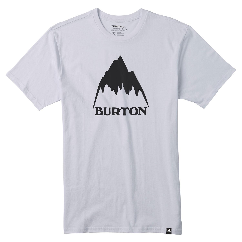 Tričko Burton Classic Mountain High stout white vel.L 17 + doručení do 24 hodin