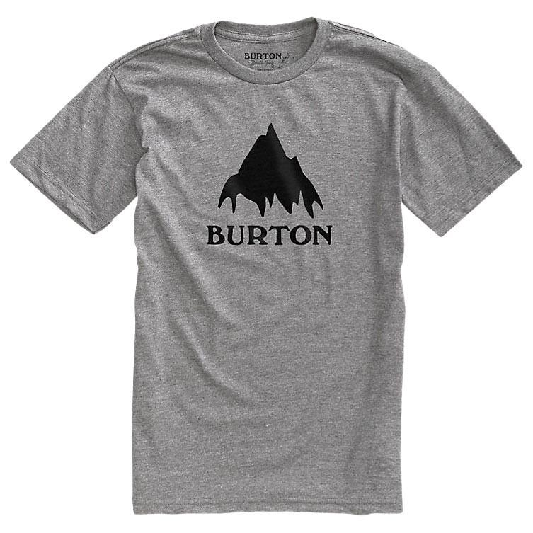Tričko Burton Classic Mountain Ss grey heather vel.M 16/17 + doručení do 24 hodin