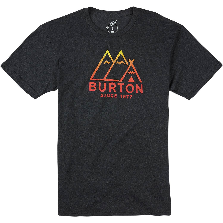 Tričko Burton Foothills Ss true black heather vel.S 15/16 + doručení do 24 hodin
