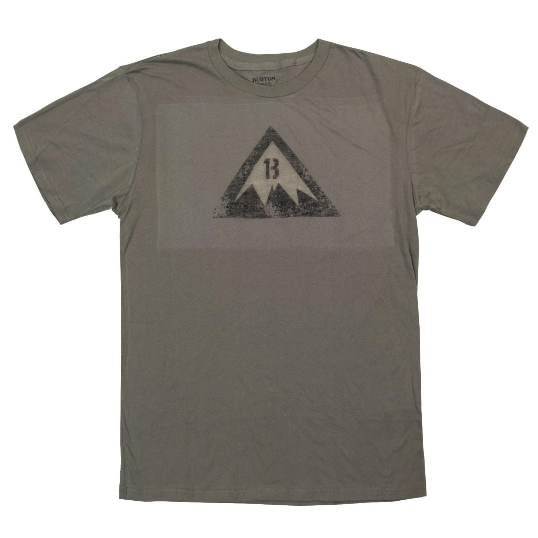 Tričko Burton Retro Logo Ss light olive vel.S 15/16 + doručení do 24 hodin