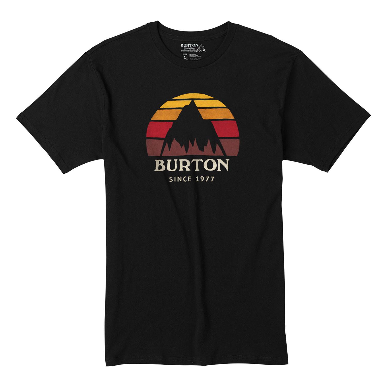 Tričko Burton Underhill Logo Ss true black