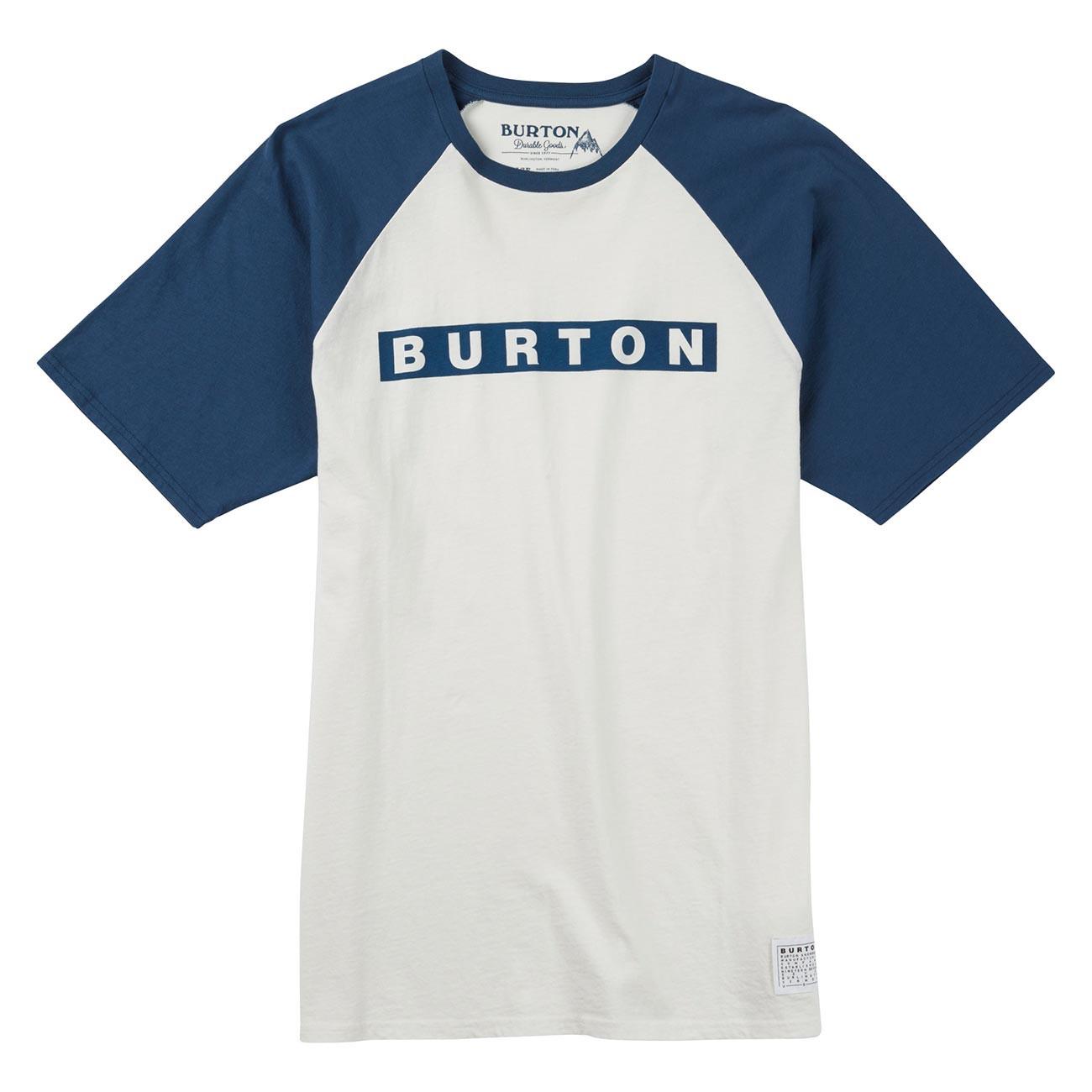 Tričko Burton Vault stout white