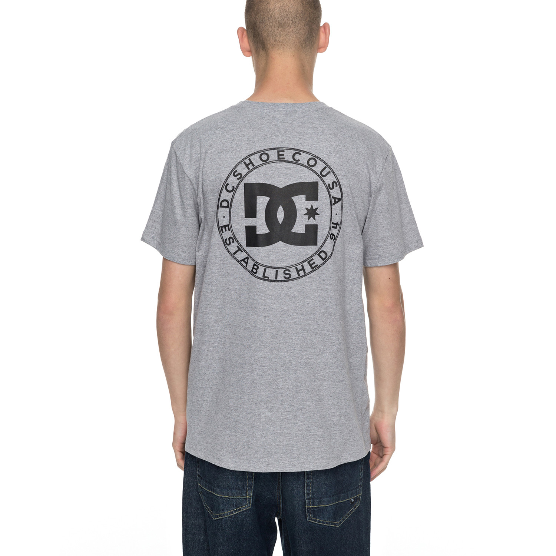 Tričko DC Wheel Of Steelo Pocket Ss grey heather