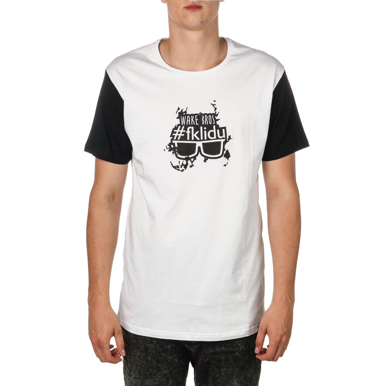 Tričko Fklidu Teamboy white/black