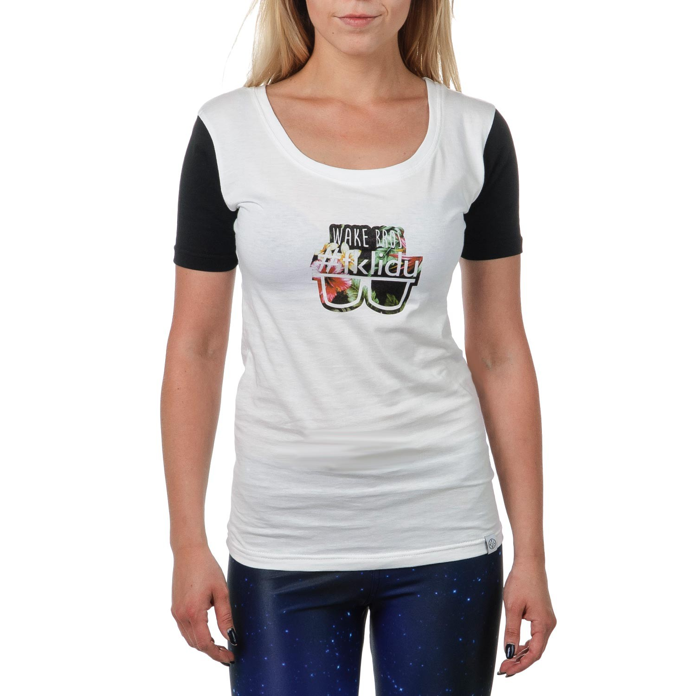 Tričko Fklidu Teamgirl white/black vel.XS 16 + doručení do 24 hodin