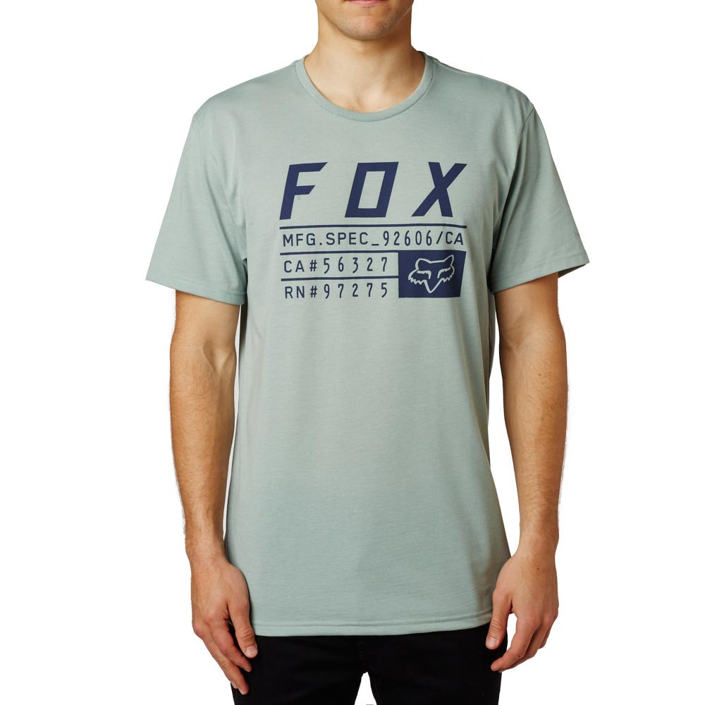 Tričko Fox Abyssmal Tech Tee heather fatigue
