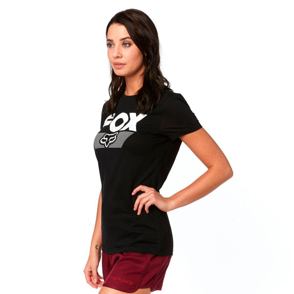 f23952bef2e Tričko Fox Ascot Crew black
