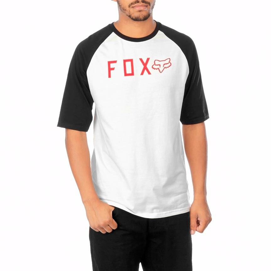 Tričko Fox Kill Shot Raglan vintage white