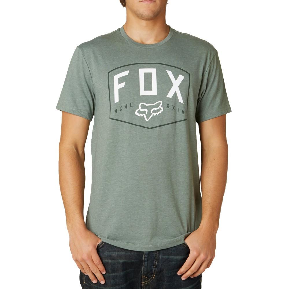 Tričko Fox Loop Out heather sage vel.S 15 + doručení do 24 hodin