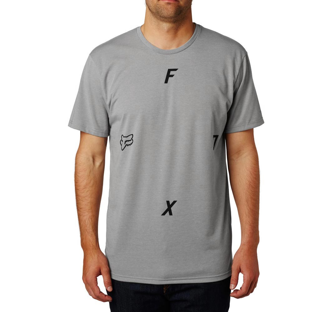 Tričko Fox Rawcus Tech Tee heather dark grey