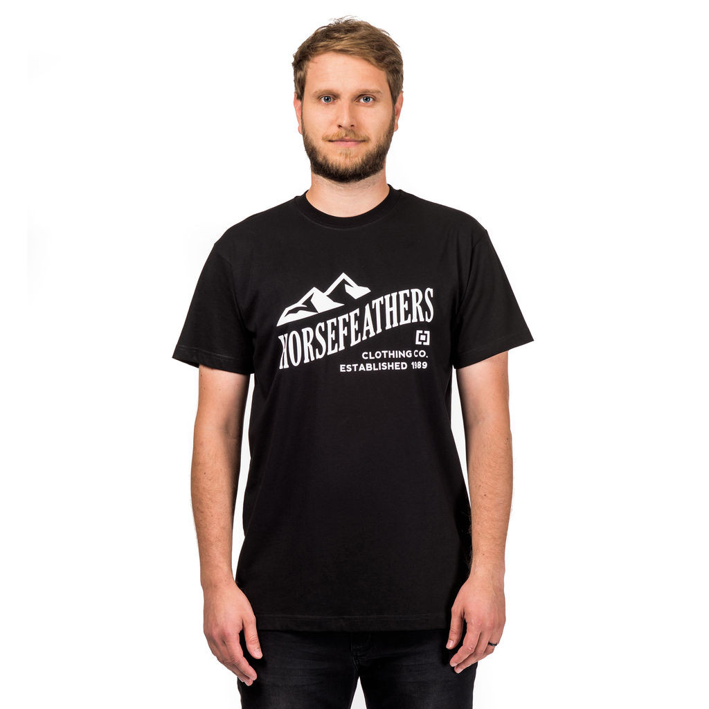 Tričko Horsefeathers Ripple black