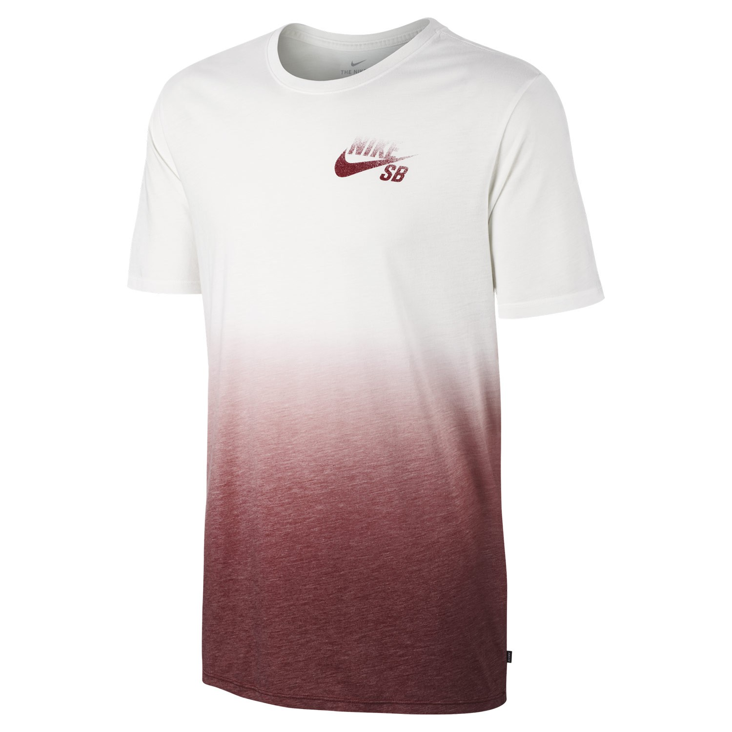 t shirt nike sb dry dip dye white team red snowboard zezula. Black Bedroom Furniture Sets. Home Design Ideas