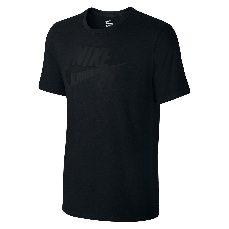 Tričko Nike SB Logo black/black