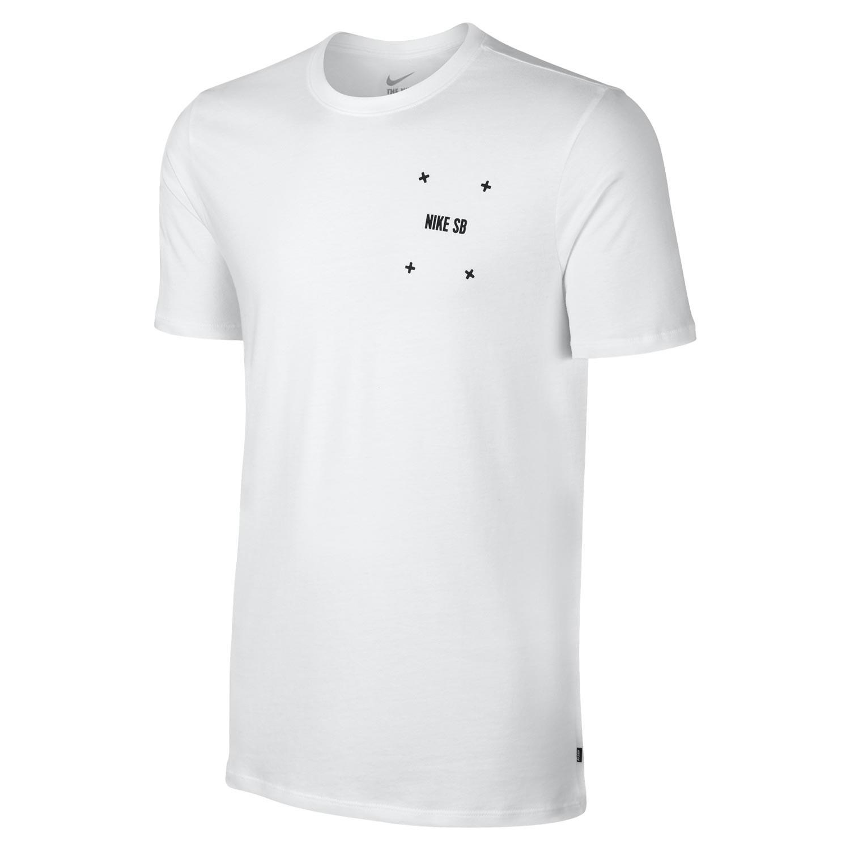 Tričko Nike SB Phillips white/white/black