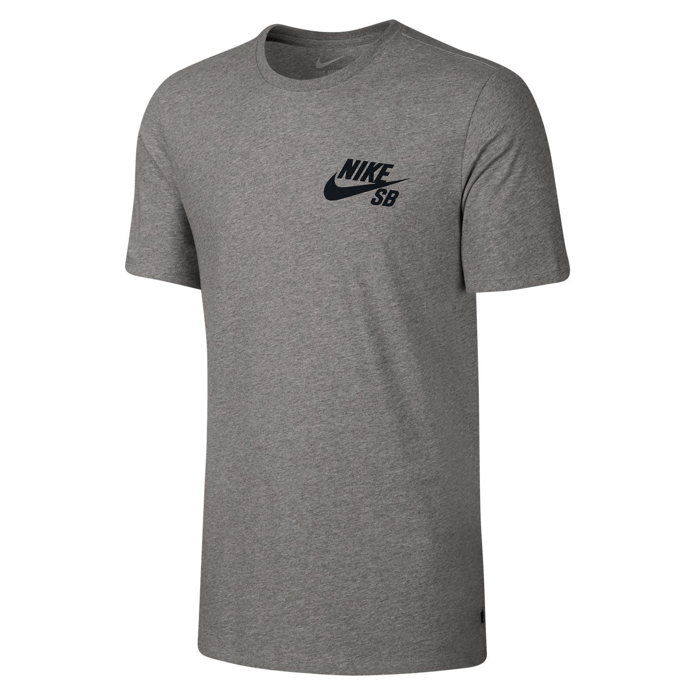 Tričko Nike SB Ripped dk grey heather/black