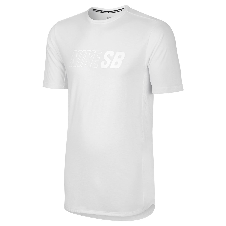 Tričko Nike SB Skyline Cool Top white/white/white