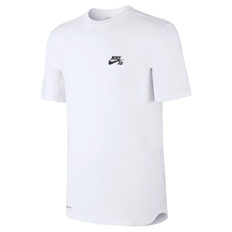 Tričko Nike SB Skyline Dri-Fit Cool Crew white/black