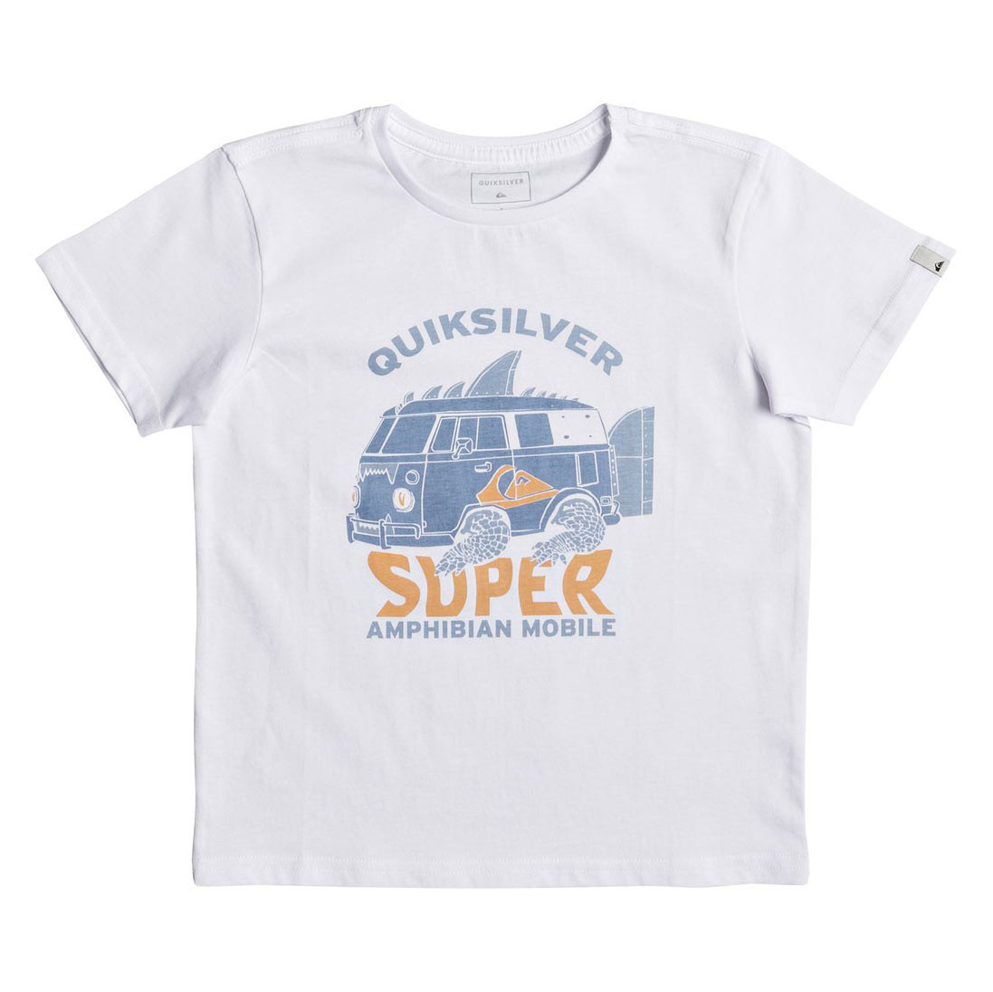 Tričko Quiksilver Boys Classic Ss Amphibian white