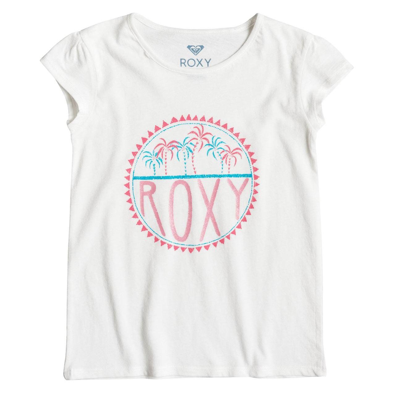 Tričko Roxy Moid Palm Tiny marshmellow