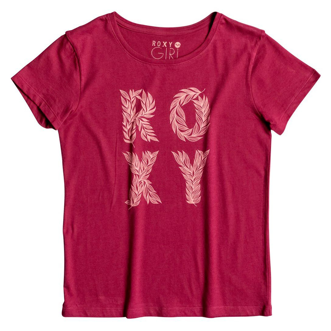 Tričko Roxy Rg Basic Crew Wild Child red plum