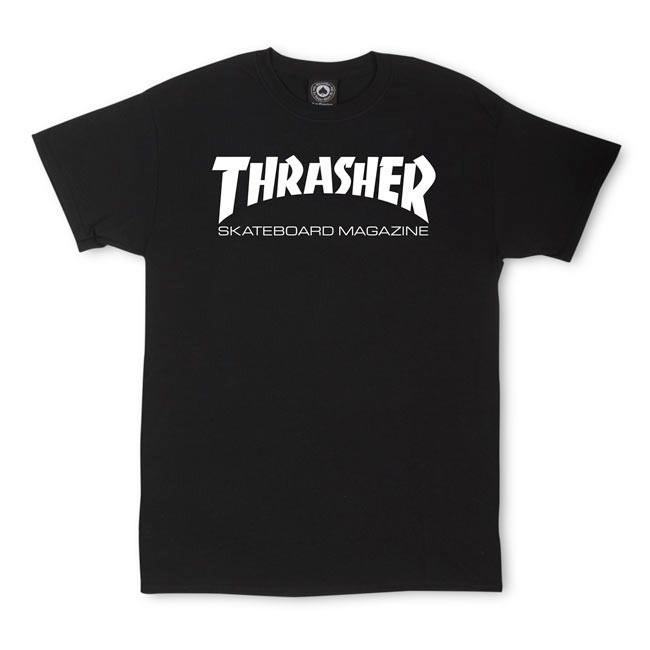 Tričko Thrasher Skate Mag black