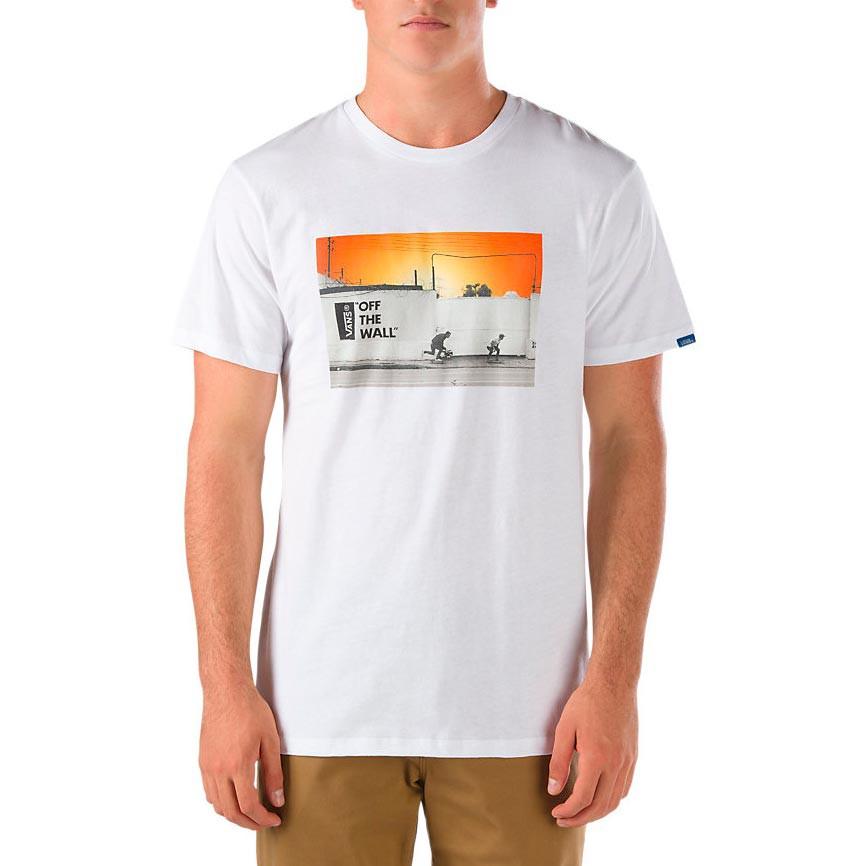 Tričko Vans Recorder white