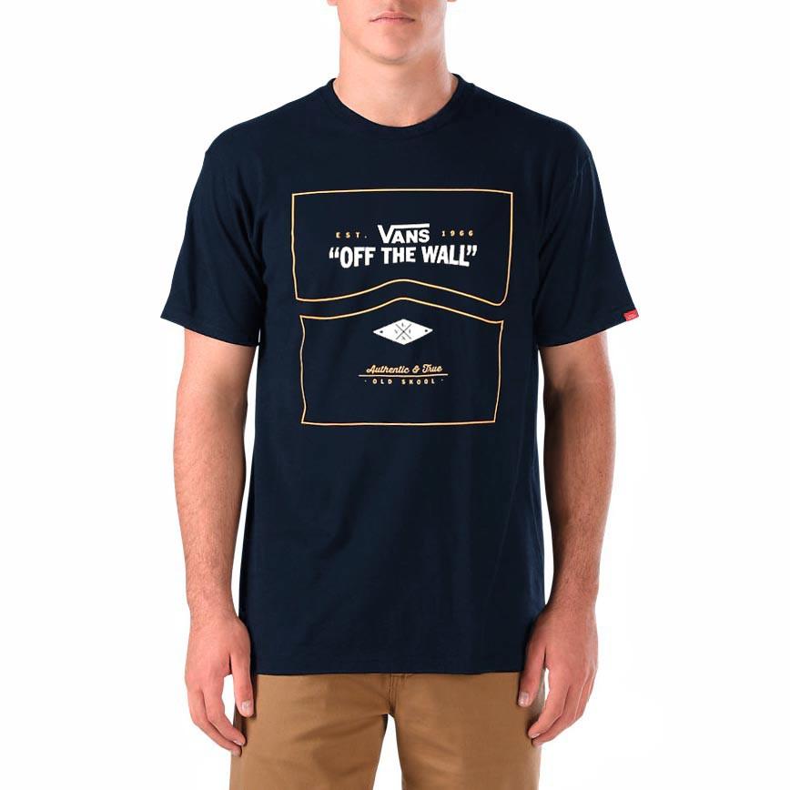 Tričko Vans Side Stripe navy vel.L 16 + doručení do 24 hodin