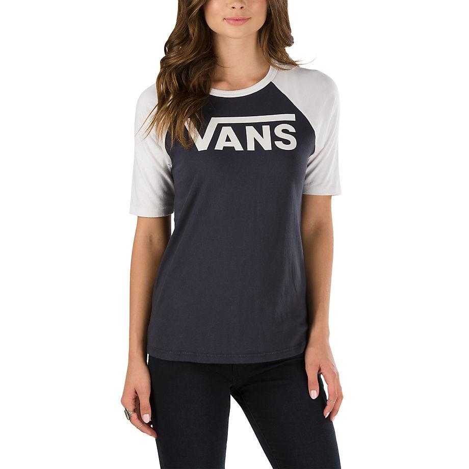 Tričko Vans Timeless Half phantom/white sand vel.S 17 + doručení do 24 hodin