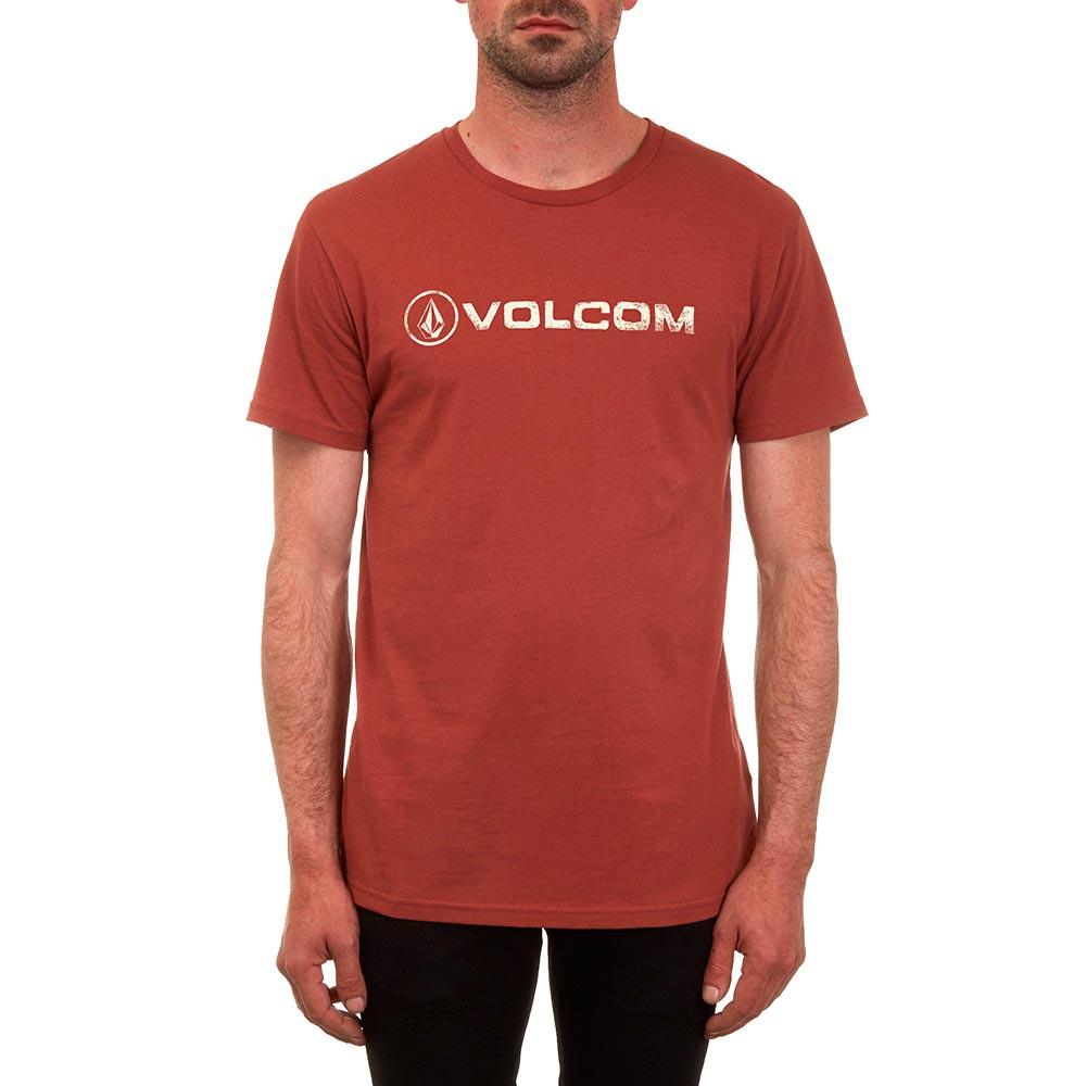 Tričko Volcom Linoeuro dark clay vel.S 17 + doručení do 24 hodin