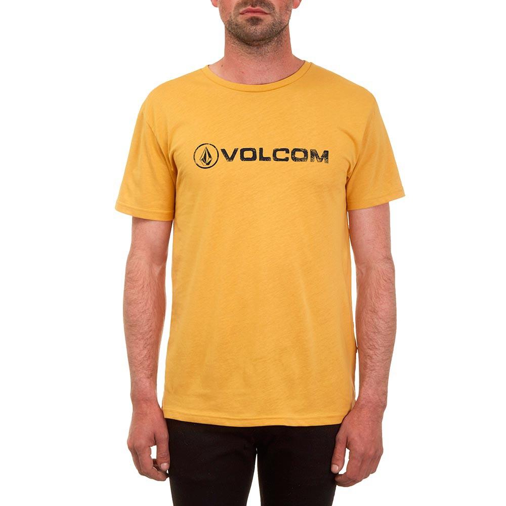 Tričko Volcom Linoeuro dirt gold vel.S 17 + doručení do 24 hodin