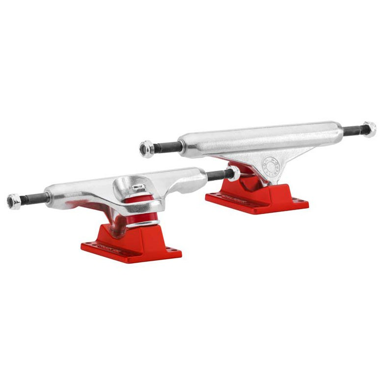 Truck Caliber Standard 160 mm raw/satin red