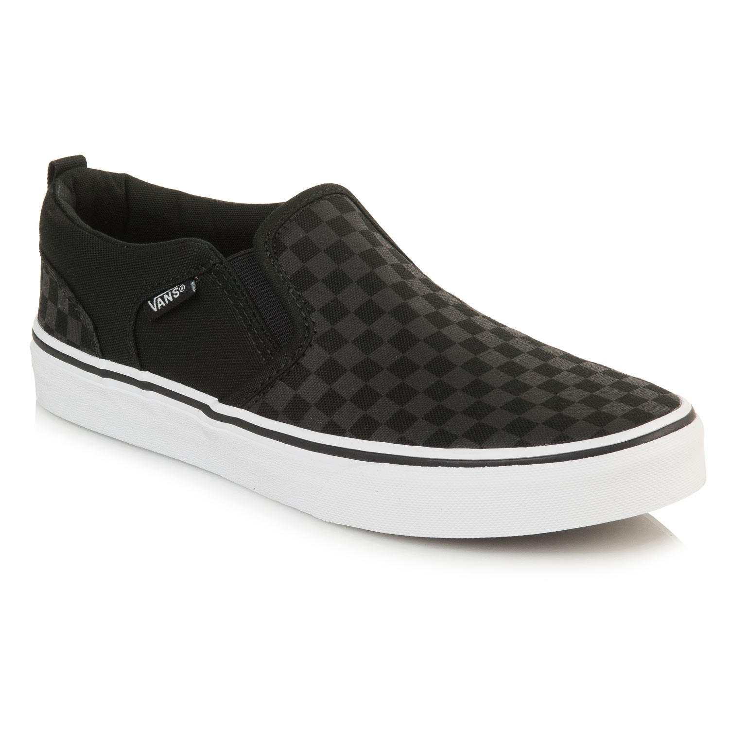 c08ded8801 Vans Asher. SOLD OUT - CANNOT BE ORDERED. Color  checker black black