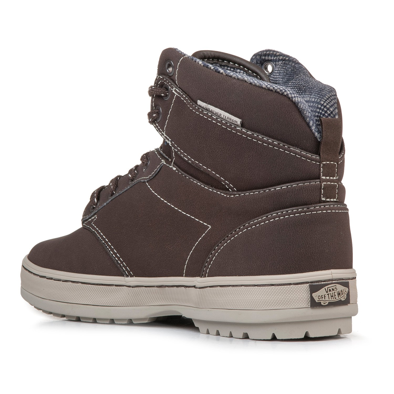 vans atwood boot brown