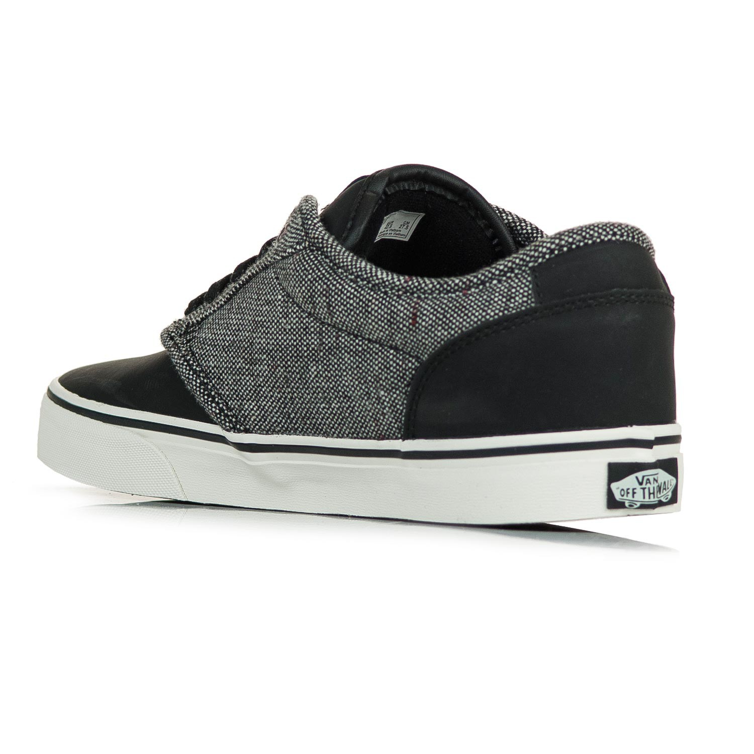 Vans Atwood Deluxe tweed black marshmallow  1ae851dba