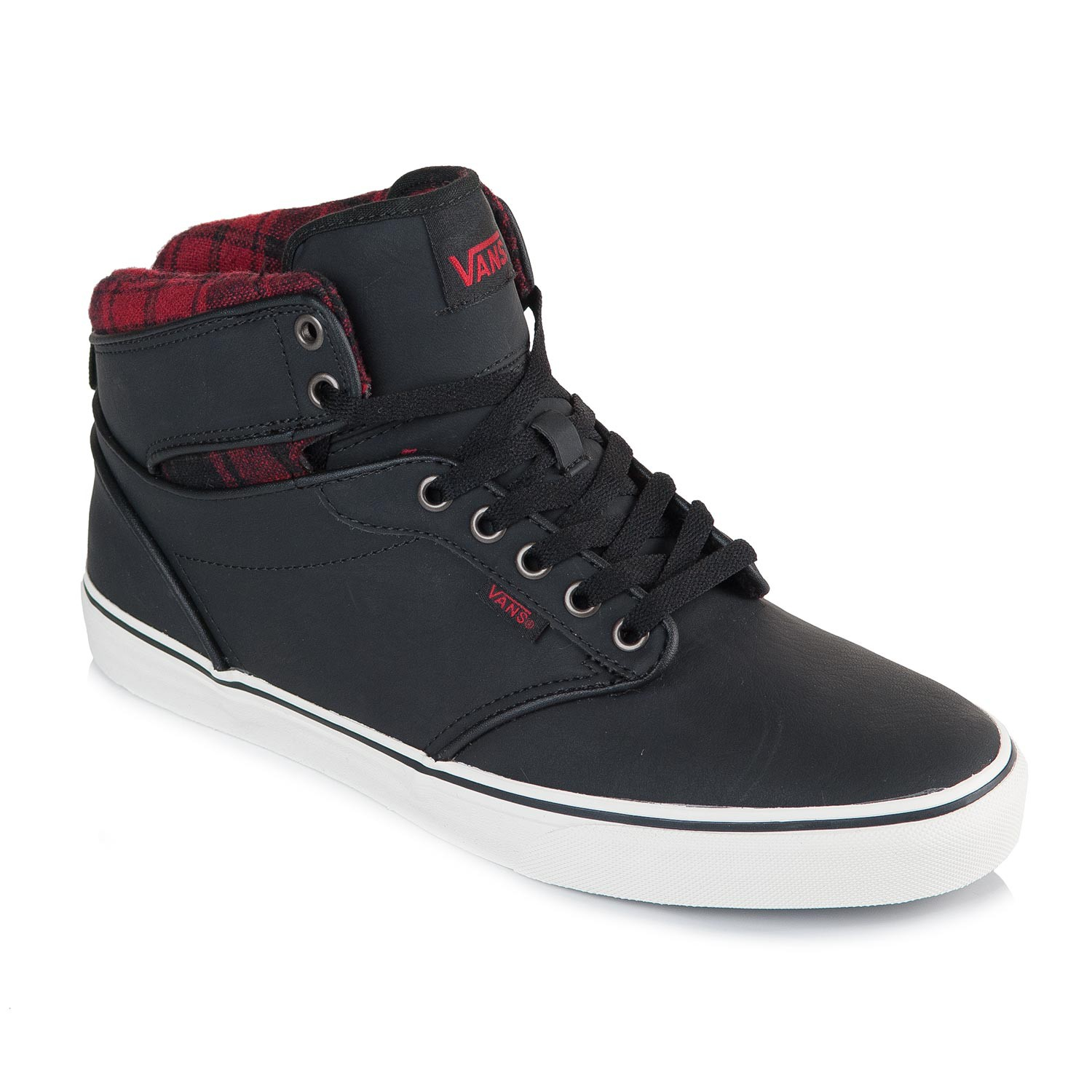 ceb02d8168 Vans Atwood Hi flannel black marshmallow