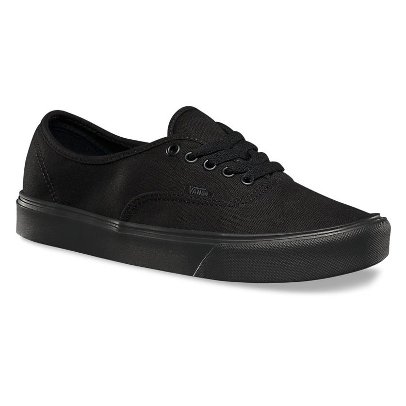 f648cc48ea Sneakers Vans Authentic Lite canvas black black
